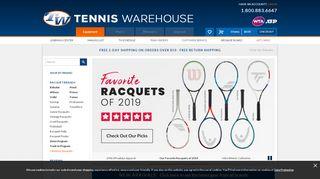 Tennis Warehouse Coupon & Promo codes