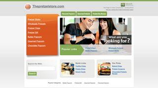 Thepretzelstore.com Coupons & Promo codes