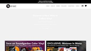 Thesoundofvinyl.us Coupons & Promo codes
