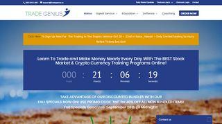 Tradegeniusacademy.com Coupons & Promo codes