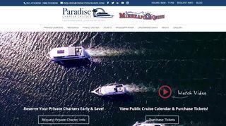 Paradise Charter Cruises Coupon & Promo codes