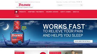 Tylenol Coupon & Promo codes