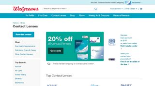 Visiondirect Coupon & Promo codes