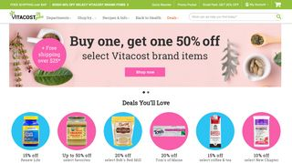 Vitacost 30 Off Coupons & Promo codes