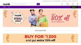 Voonik Coupon Codes For New Users & Promo codes