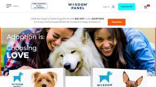 Wisdom Panel Dna Test Coupon & Promo codes