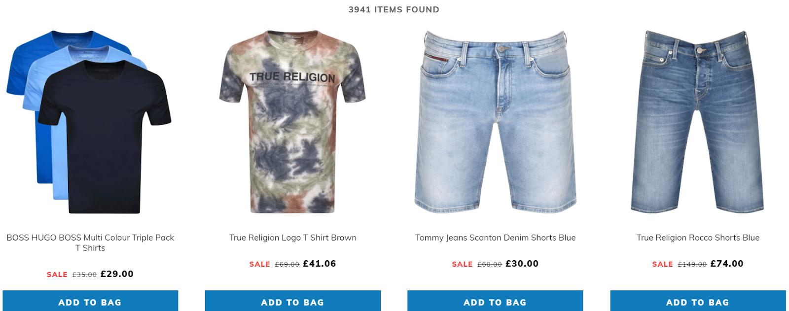 shop on sale category