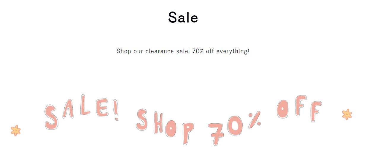 shop sale category