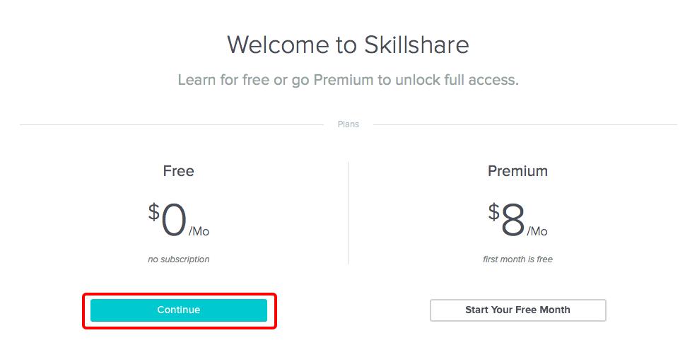 skillshare premium for 3 months free