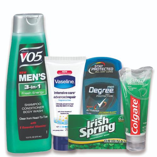 the mens hygiene basket