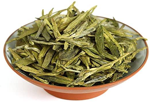 the xihu longjing tea leaves 1