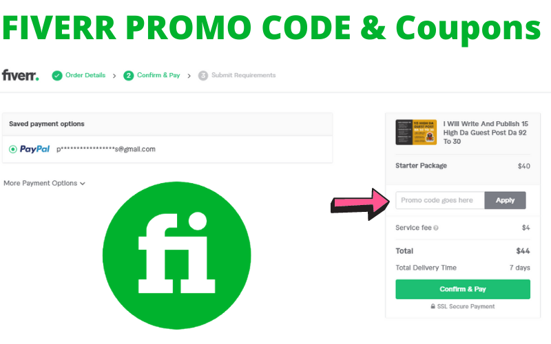 use a working fiverr coupon