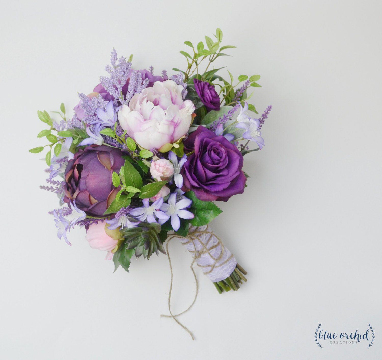 violet flower bouquets
