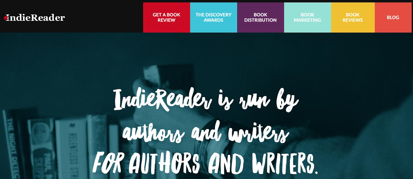 visit indiereader homepage