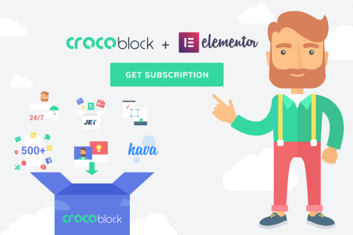 what is included in the crocoblock subscription
